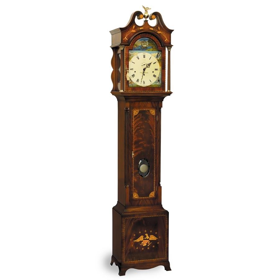 columbia grandfather clock oversized clock