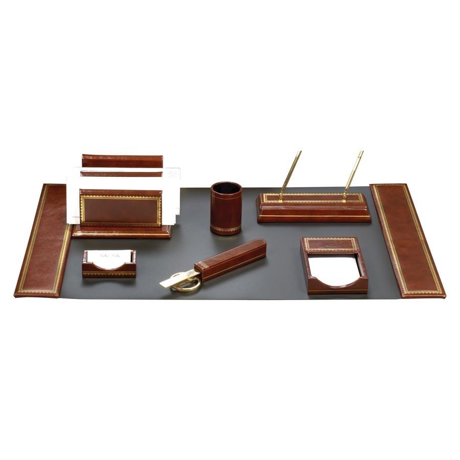 Florentine Leather Desk Pads Desk Accessories