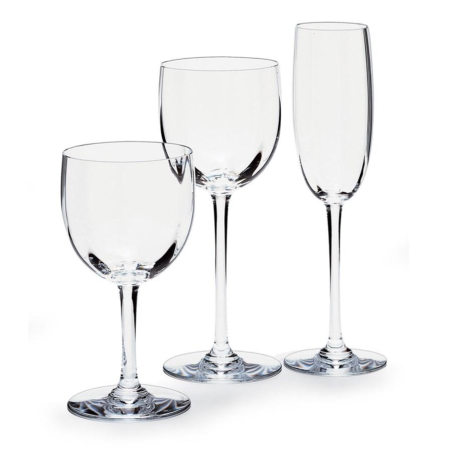 Baccarat montaigne optic stemware and barware baccarat crystal glassware tabletop - Baccarat stemware ...