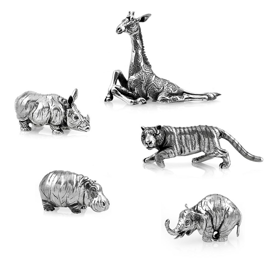 Buccellati Sterling Silver Miniature Animals Assorted